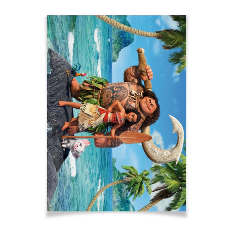Плакат A3(29.7x42) Printio Моана плакат a2 42x59 printio драко малфой