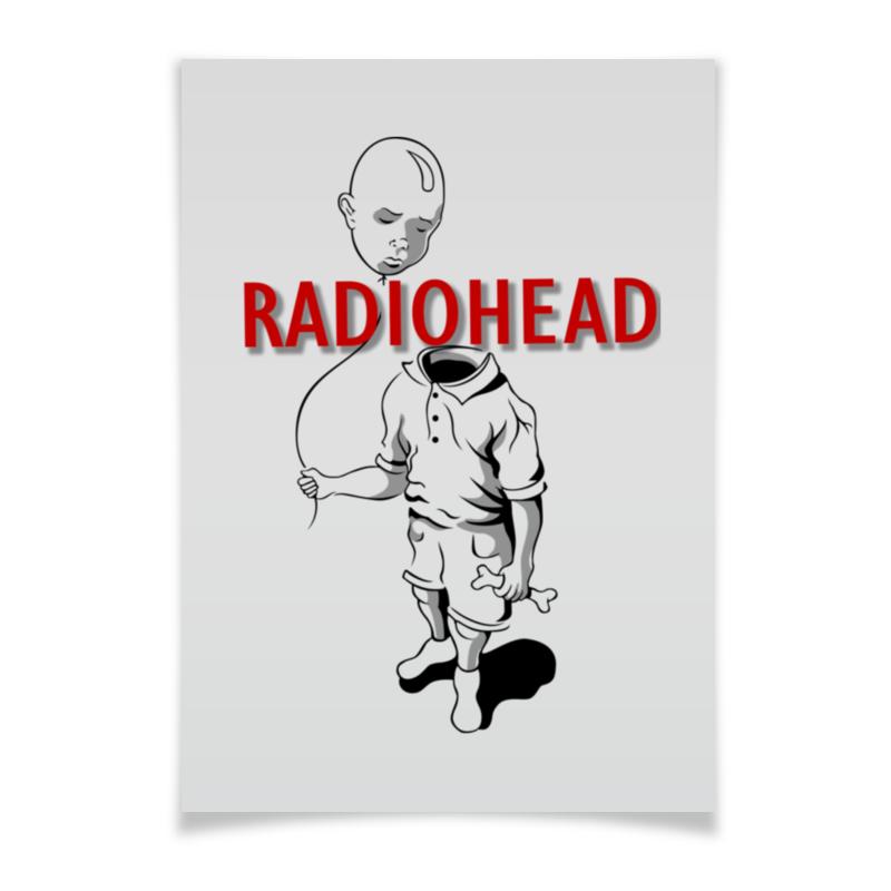 Плакат A3(29.7x42) Printio Radiohead cd из японии radiohead