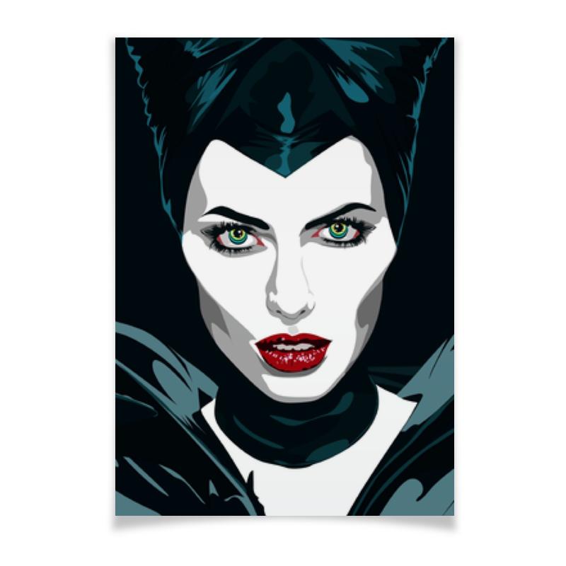 Плакат A3(29.7x42) Printio Maleficent (анджелина джоли) кукла dong huan джоли