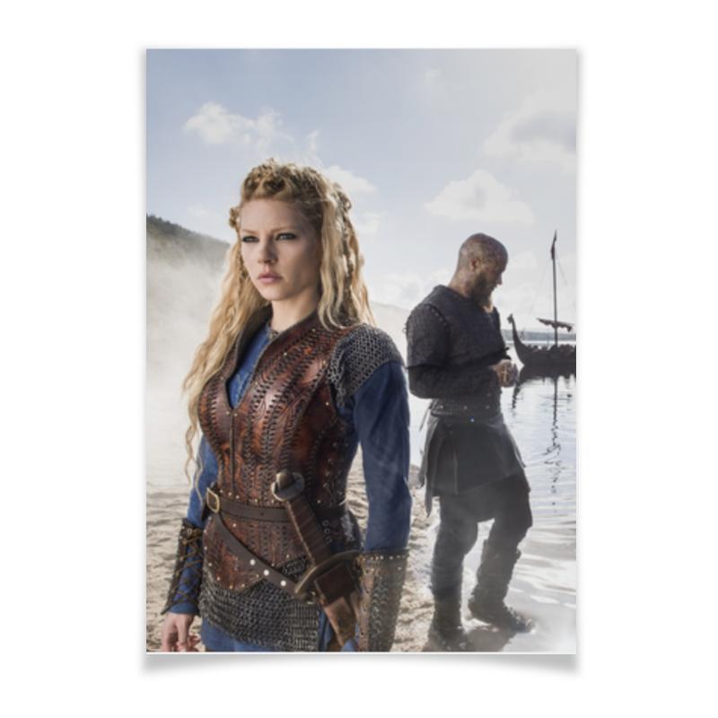 Плакат A3(29.7x42) Printio Викинги викинги