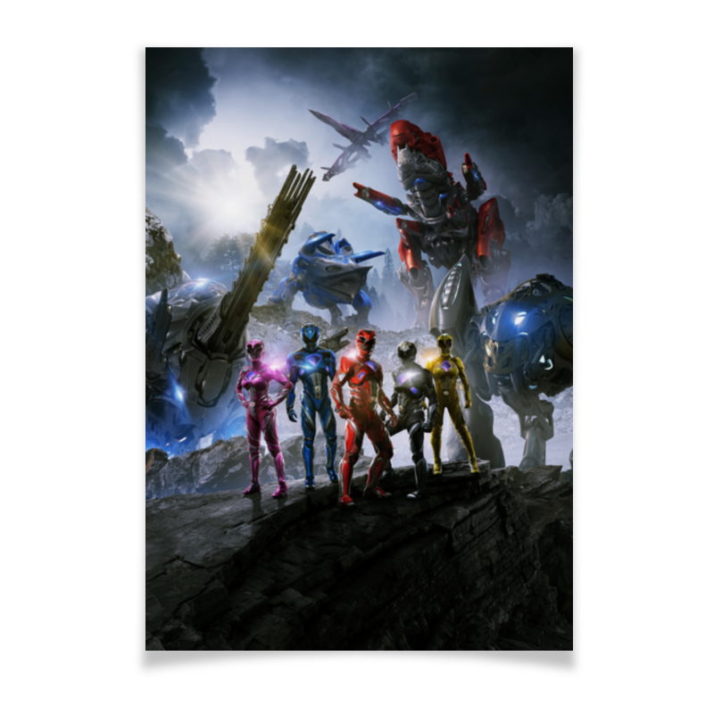 Плакат A3(29.7x42) Printio Power rangers