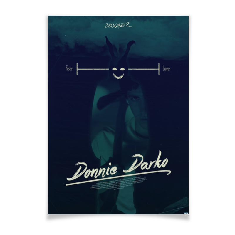 Плакат A3(29.7x42) Printio Донни дарко / donnie darko