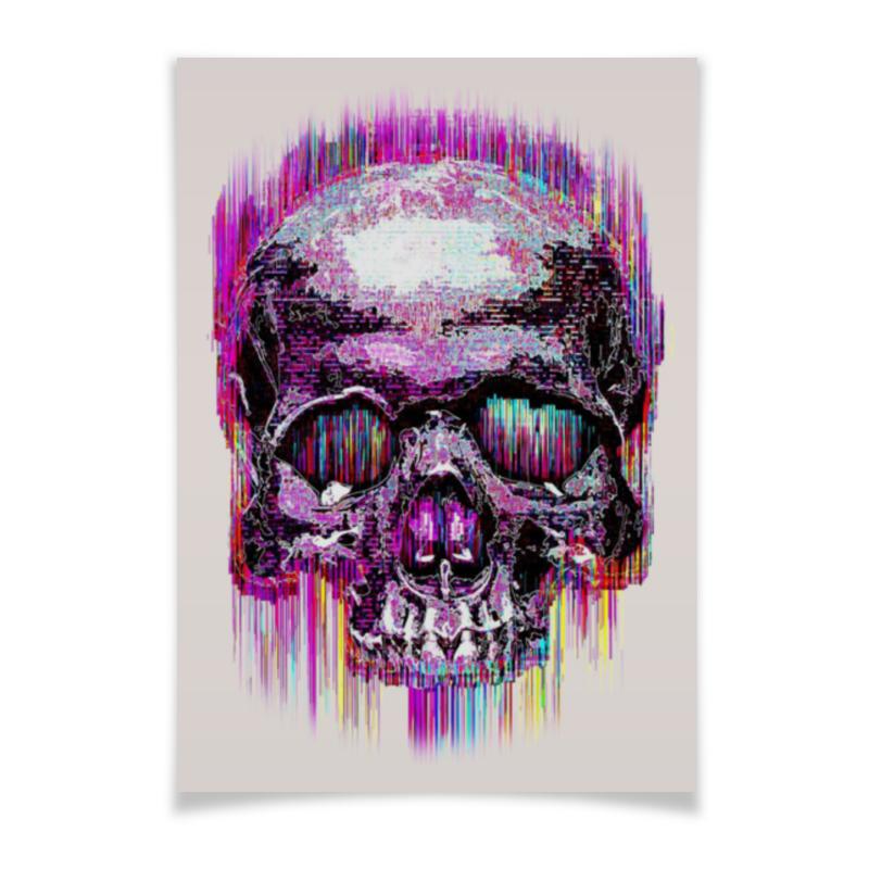 Плакат A3(29.7x42) Printio Skull art худи print bar skull