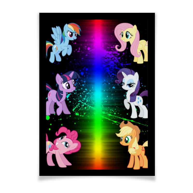 Плакат A3(29.7x42) Printio Пони-pony