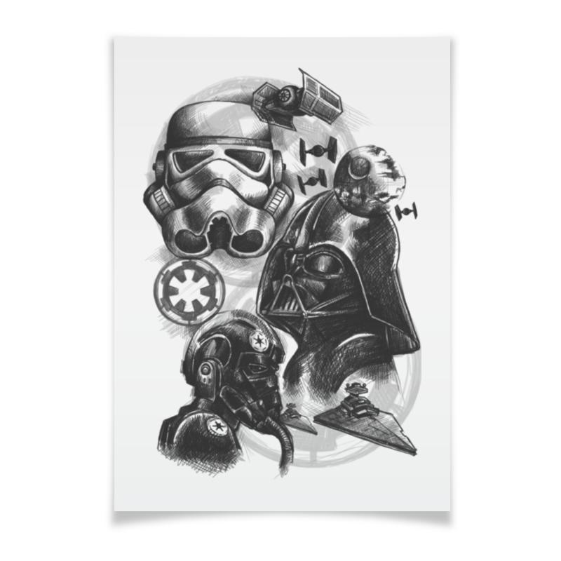 Плакат A3(29.7x42) Printio Звездные войны плакат a3 29 7x42 printio bloodborne