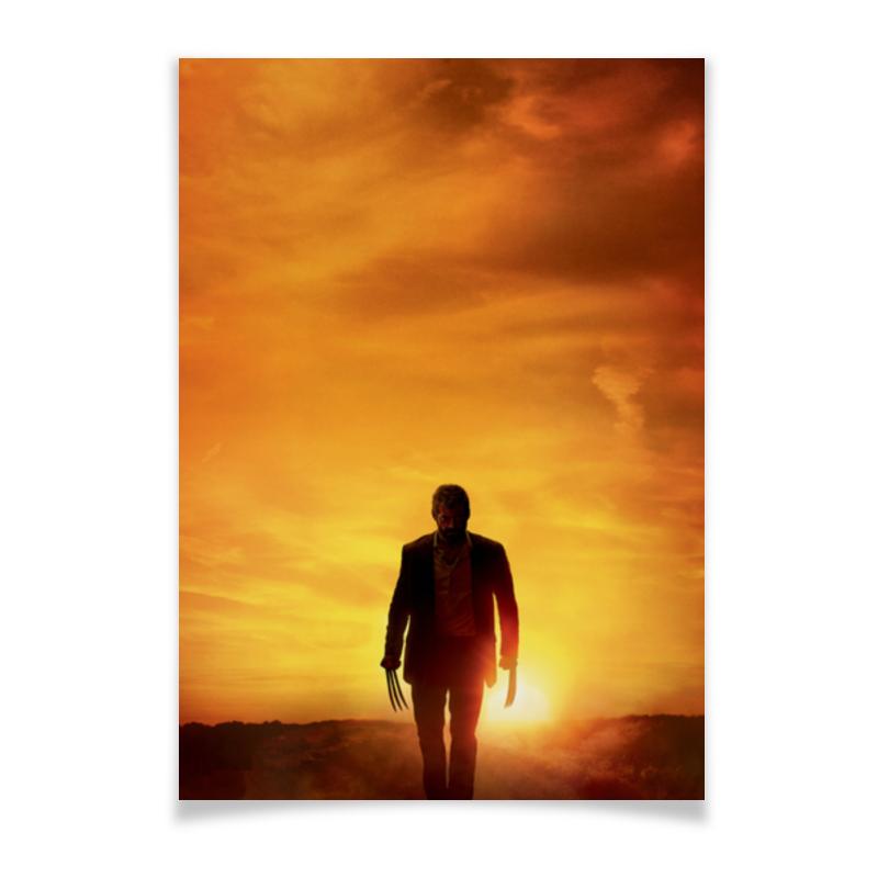 Плакат A3(29.7x42) Printio Логан