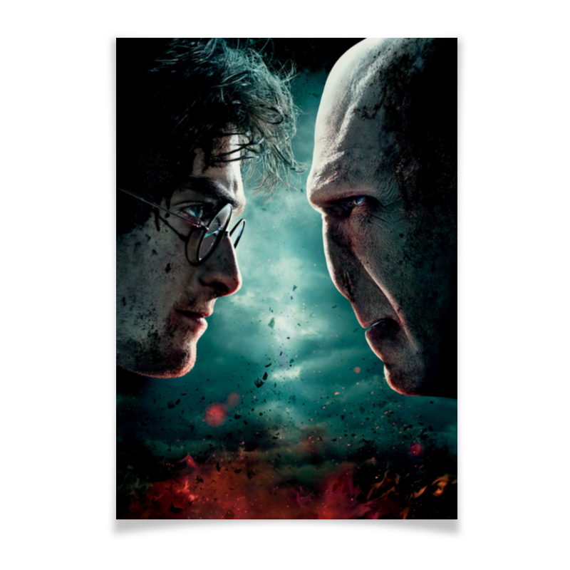 Плакат A3(29.7x42) Printio Гарри поттер холст 50x50 printio гарри поттер