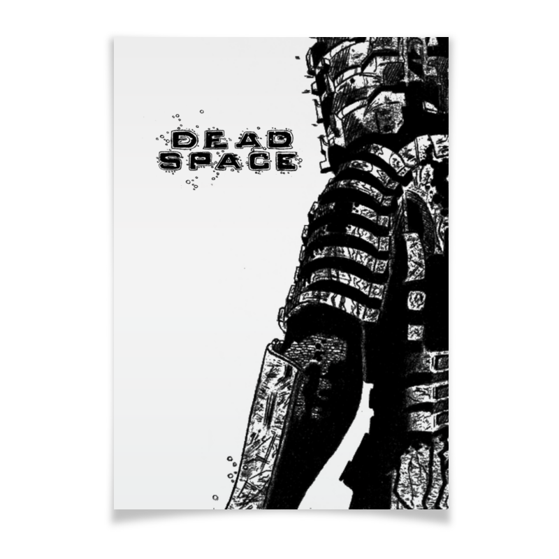 Плакат A3(29.7x42) Printio Dead space my space mm5080004