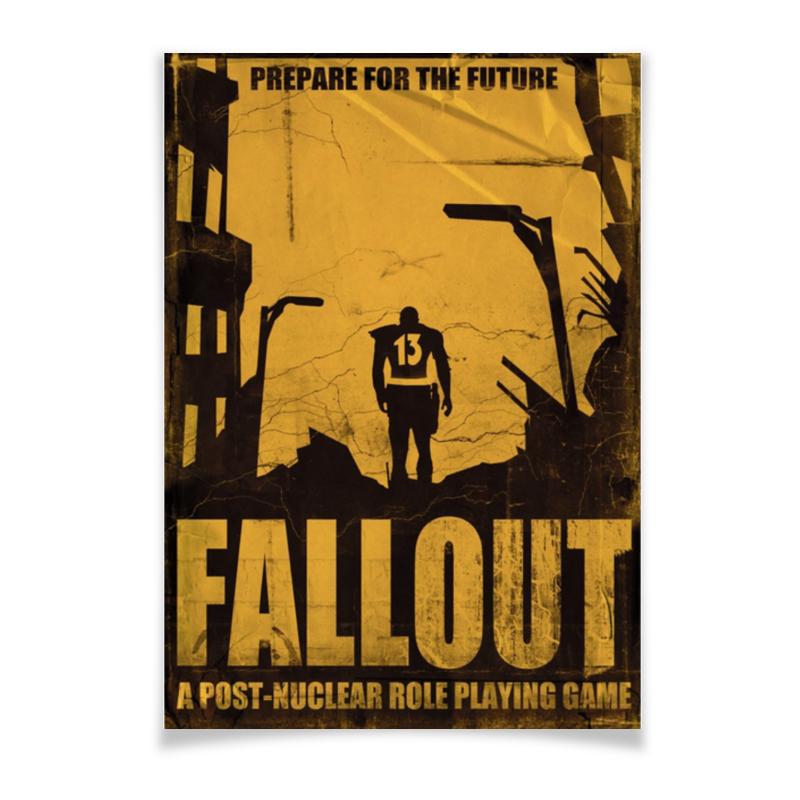 Плакат A3(29.7x42) Printio Fallout плакат a3 29 7x42 printio fallout игра