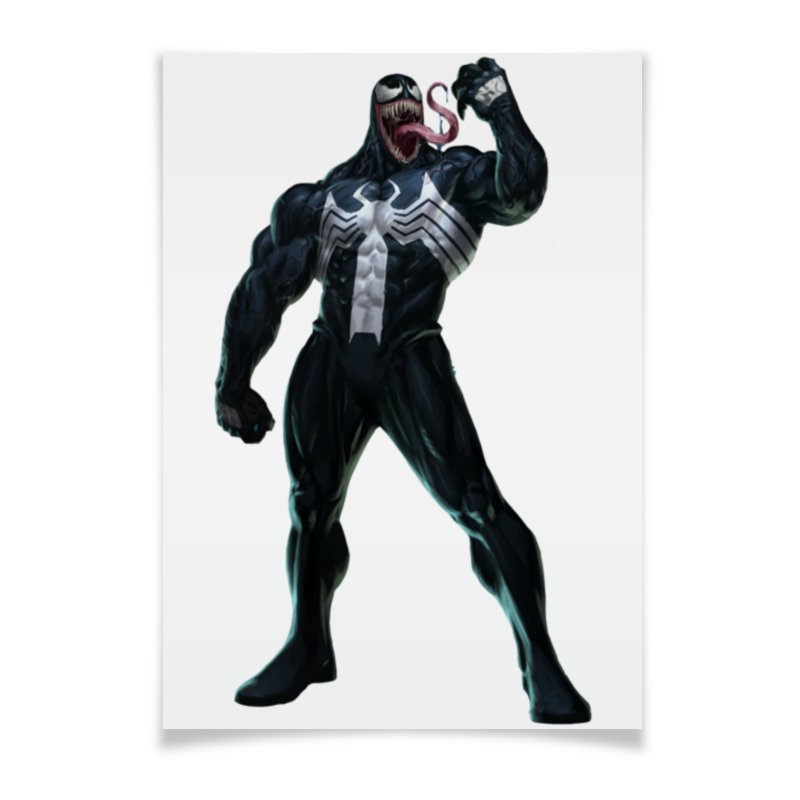 Плакат A3(29.7x42) Printio Venom / веном the venom of luxur
