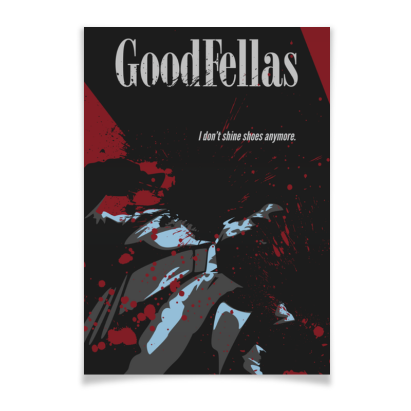 Плакат A3(29.7x42) Printio Славные парни / goodfellas николас пиледжи славные парни