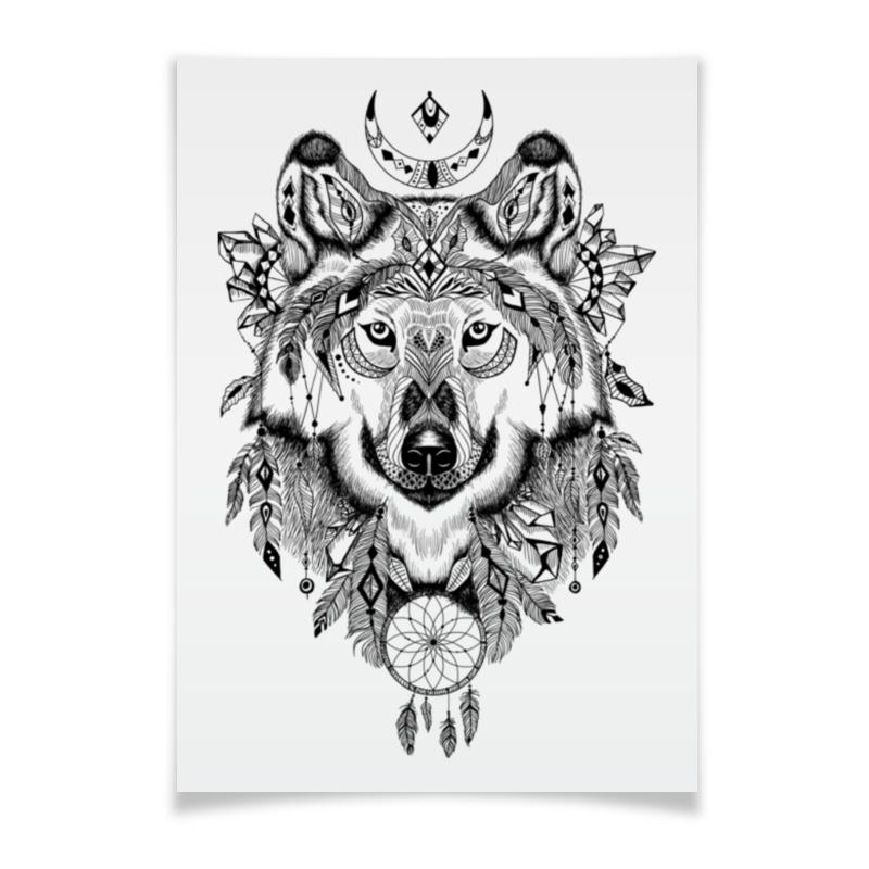 Printio Тотем. волк цена 2017