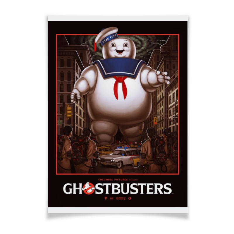 Плакат A3(29.7x42) Printio Ghost busters ghost ghost meliora