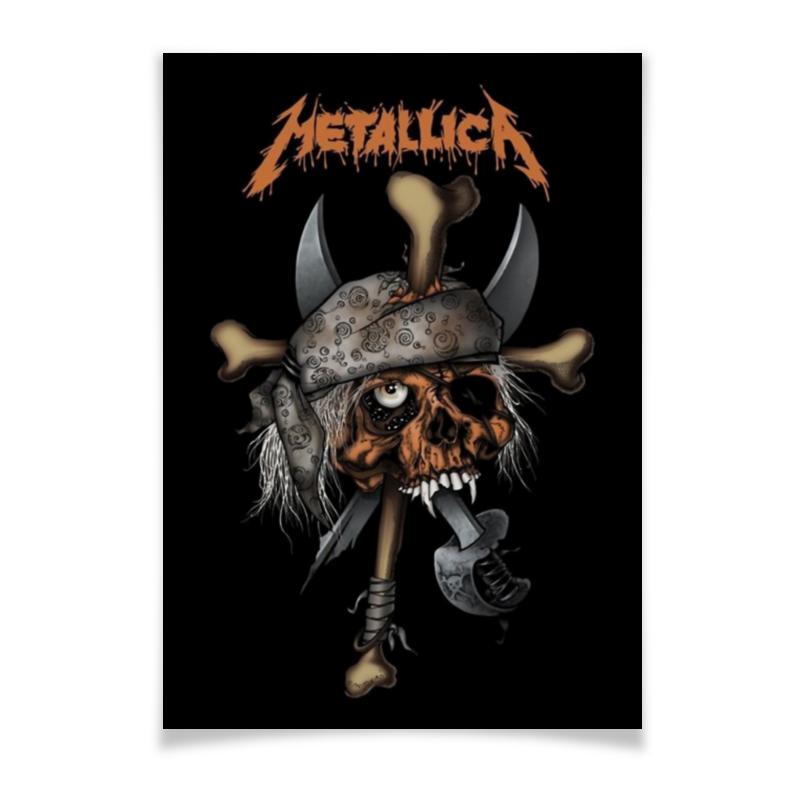 Плакат A3(29.7x42) Printio Metallica плакат a2 42x59 printio противостояние