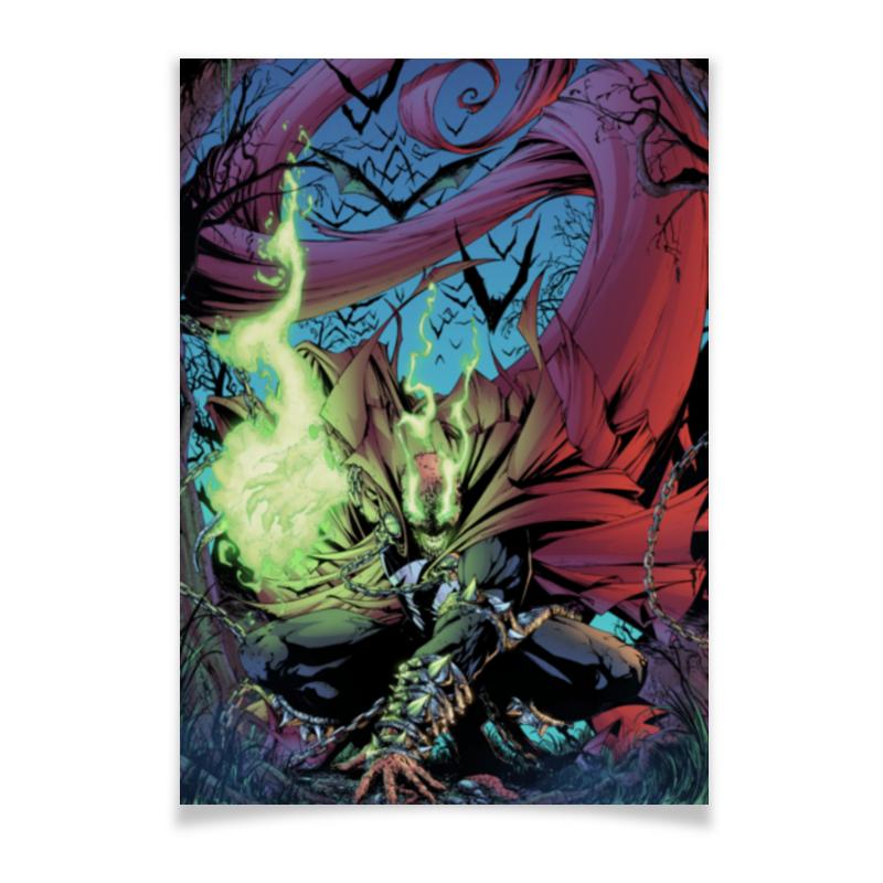 Плакат A3(29.7x42) Printio Спаун (spawn) плакат a3 29 7x42 printio bloodborne