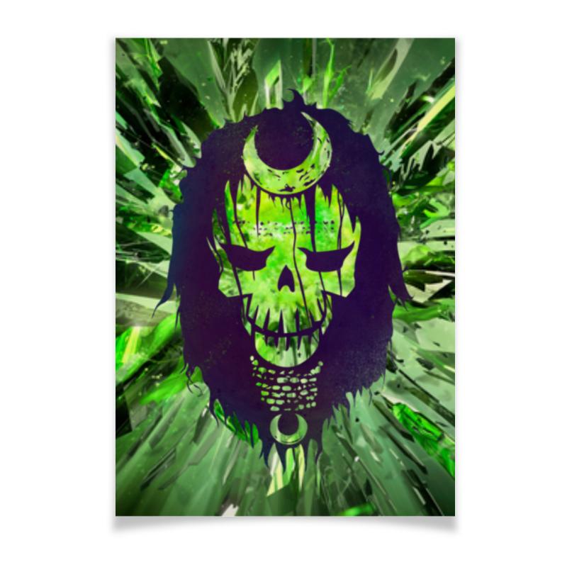 Плакат A3(29.7x42) Printio Отряд самоубийц / suicide squad коллекционная металлическая фигурка dc comics джокер – отряд самоубийц – suicide squad joker alternate version 6 см