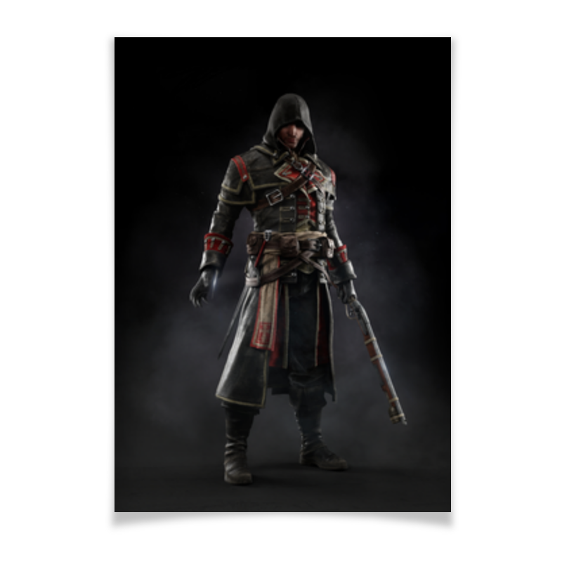 Плакат A3(29.7x42) Printio Assassins creed (rogue) цена