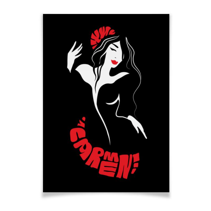 Плакат A3(29.7x42) Printio Кармен. страстная танцовщица кармен 2018 02 02t19 00