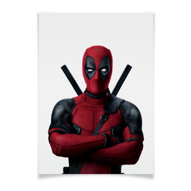 Плакат A3(29.7x42) Printio Deadpool плакат a3 29 7x42 printio слава красной армии