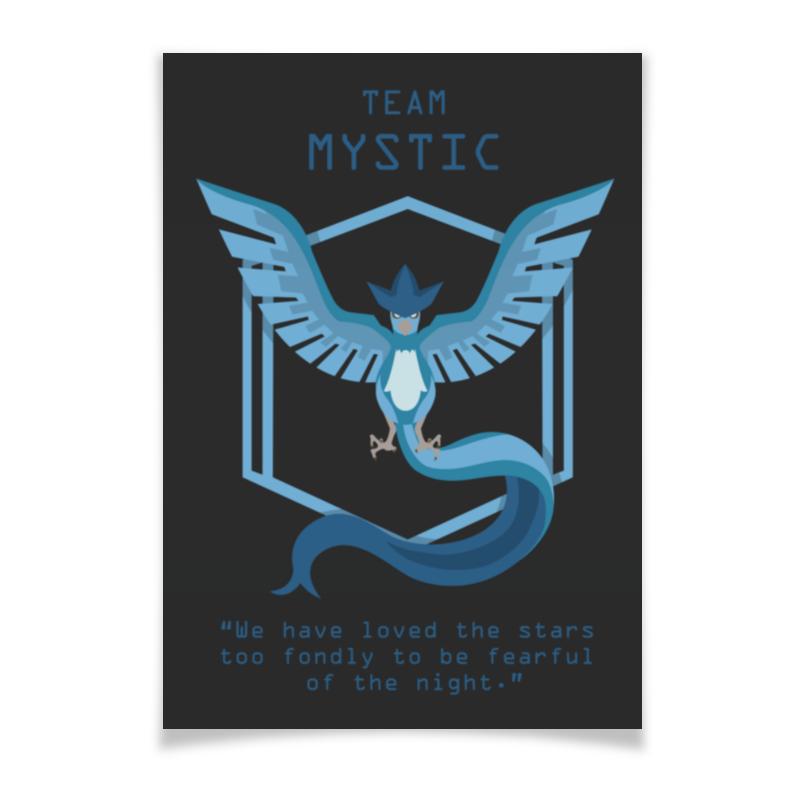 Плакат A3(29.7x42) Printio Team mystic плакат a3 29 7x42 printio go hard