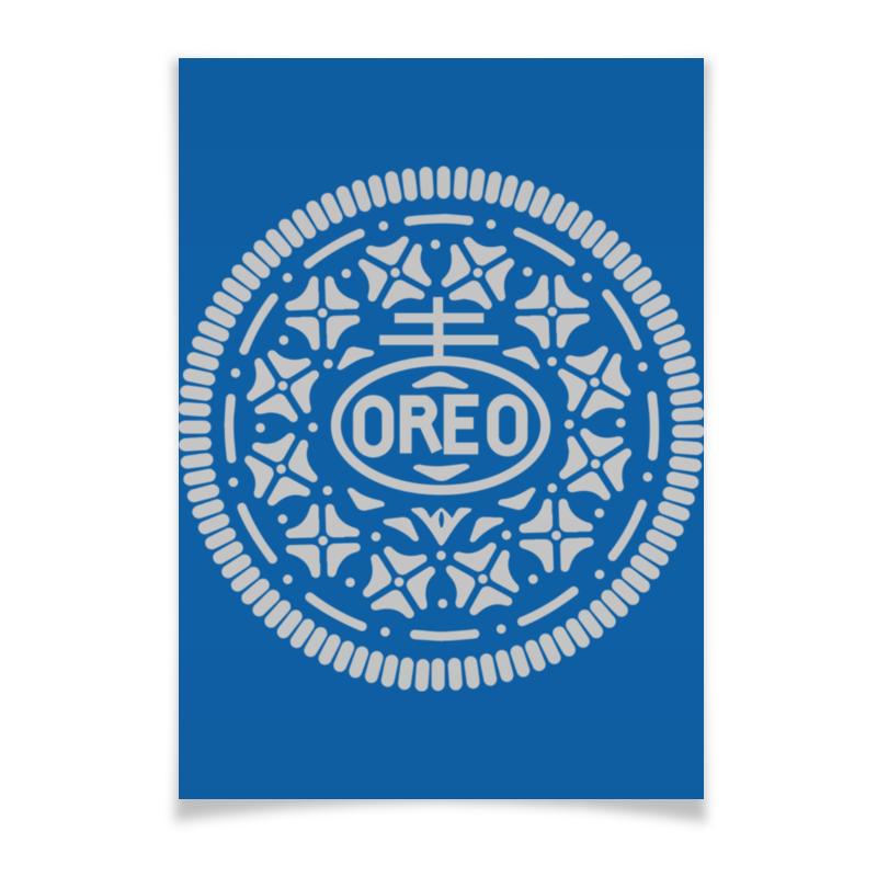 Плакат A3(29.7x42) Printio Печенье орео / oreo cookies unibis pista badam cookies печенье с миндалем и фисташками 75 г