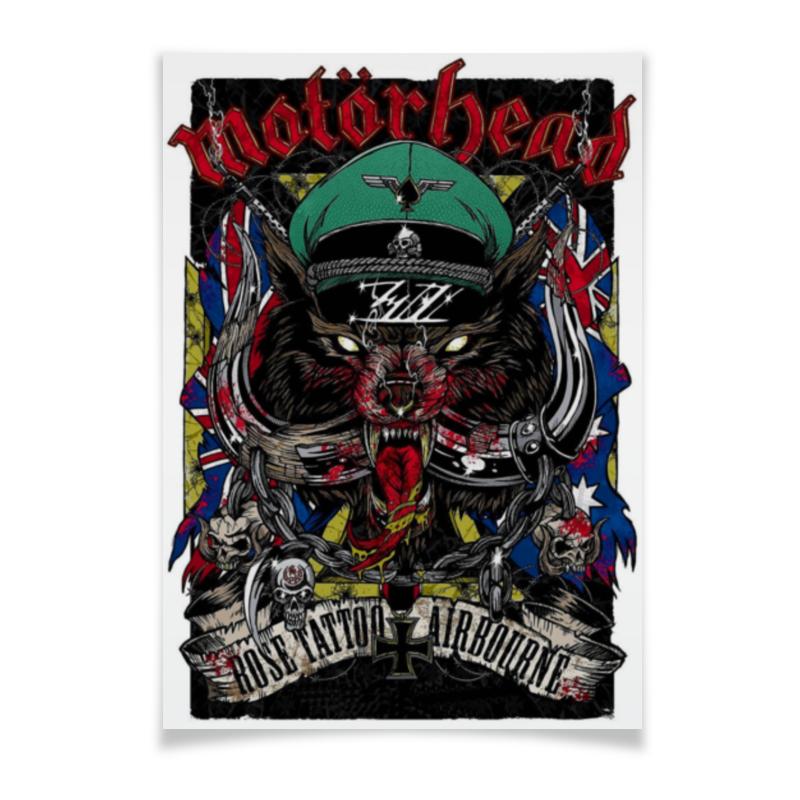 Плакат A3(29.7x42) Printio Motorhead плакат a3 29 7x42 printio motorhead
