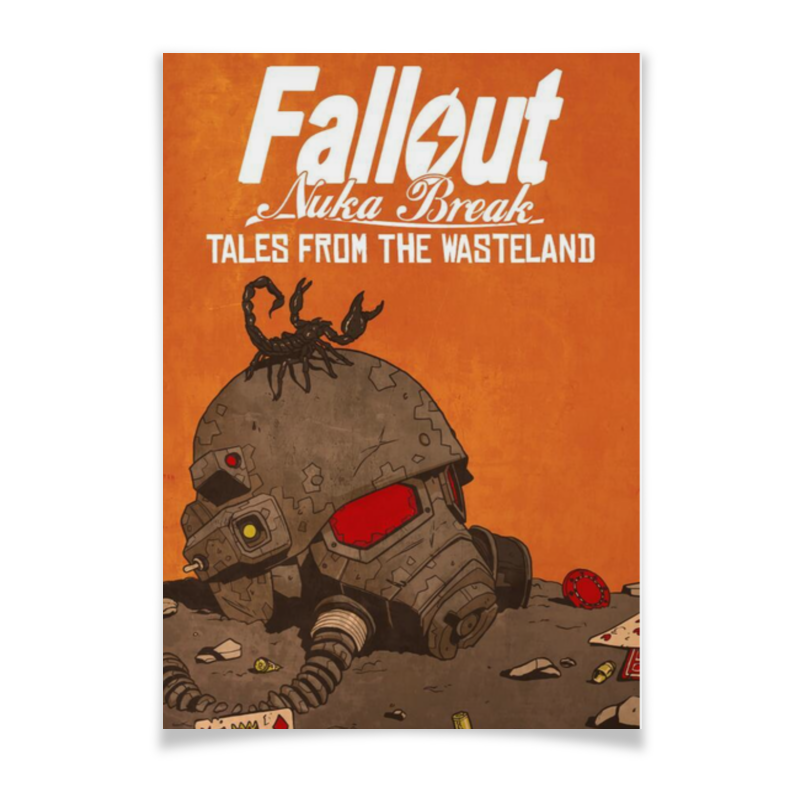 Плакат A3(29.7x42) Printio Fallout nuka break плакат a3 29 7x42 printio fallout игра