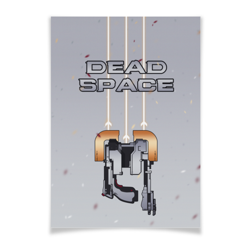 Плакат A3(29.7x42) Printio Dead space space strategy