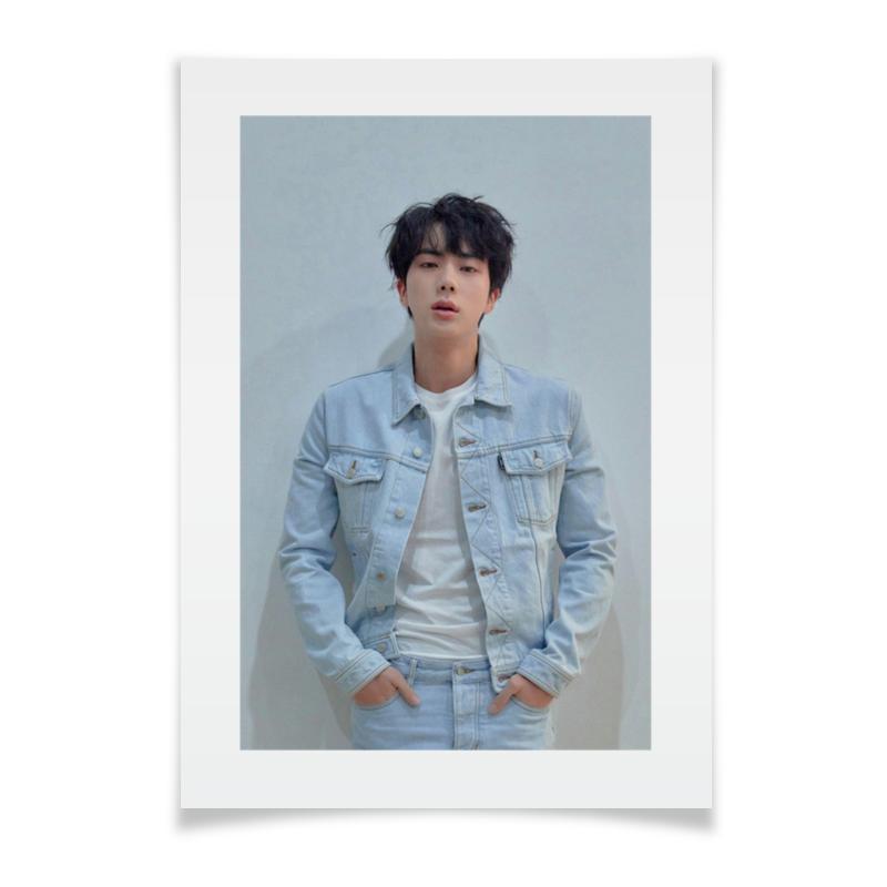 Плакат A3(29.7x42) Printio Jin bts