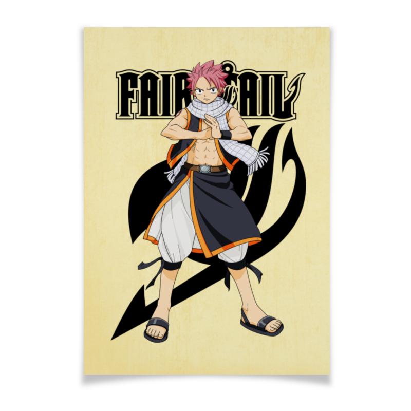 Плакат A3(29.7x42) Printio Fairy tail. нацу плакат a3 29 7x42 printio нацу fairy tail