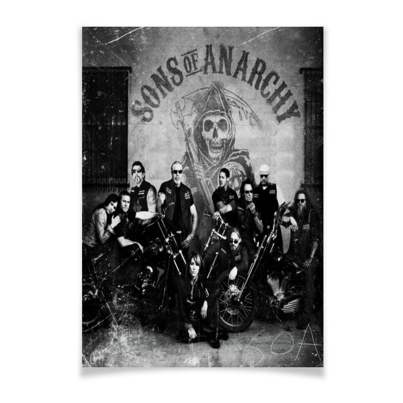 Плакат A3(29.7x42) Printio Сыны анархии плакат a3 29 7x42 printio сыны анархии