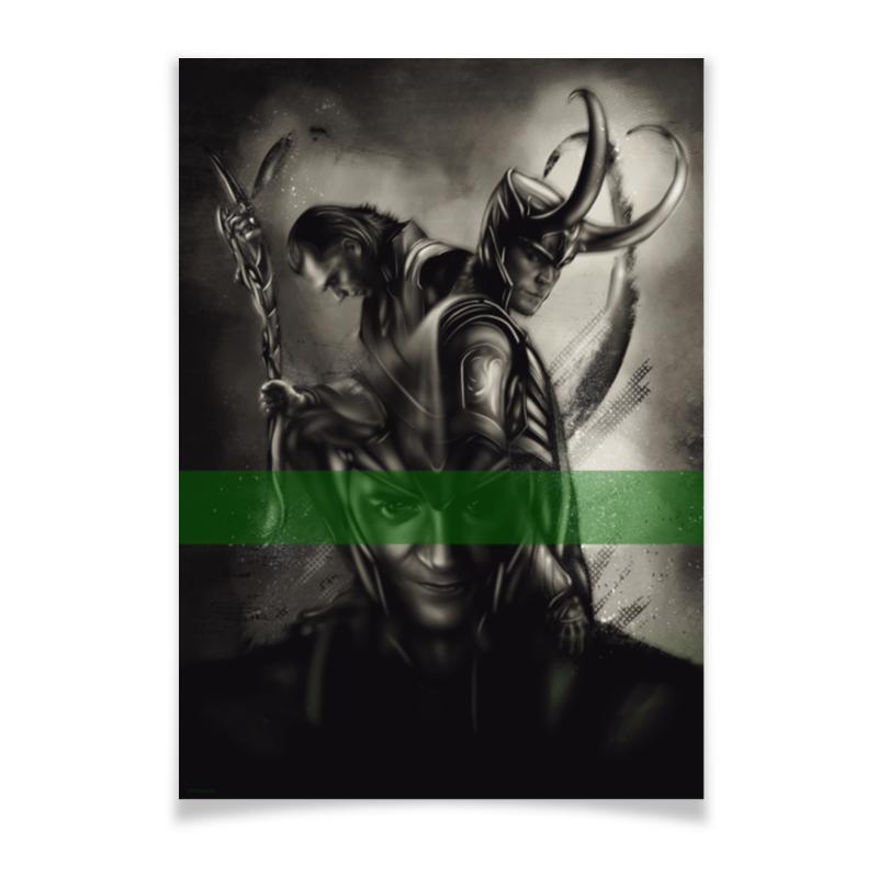 Плакат A3(29.7x42) Printio Marvel: loki плакат a3 29 7x42 printio marvel thor