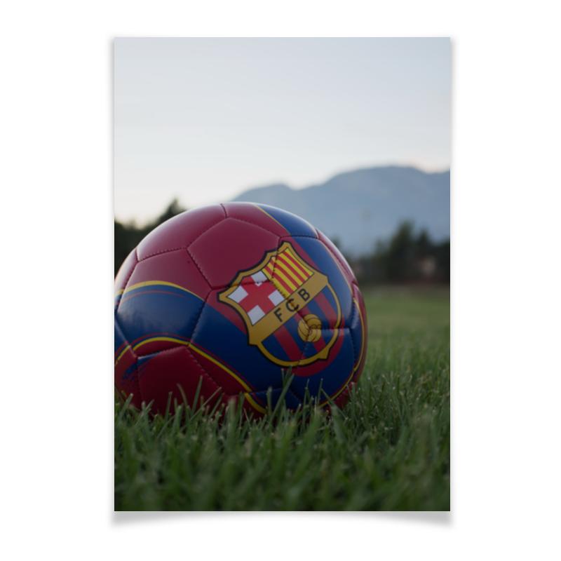 Плакат A3(29.7x42) Printio Барселона каждый день шпроты в масле каждый день 160г