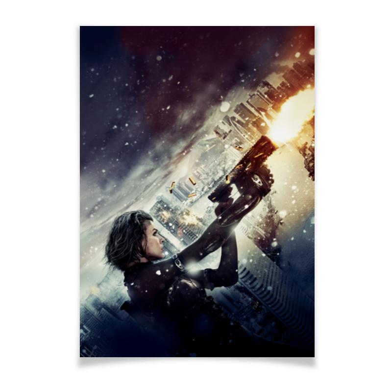 Плакат A3(29.7x42) Printio Обитель зла цена