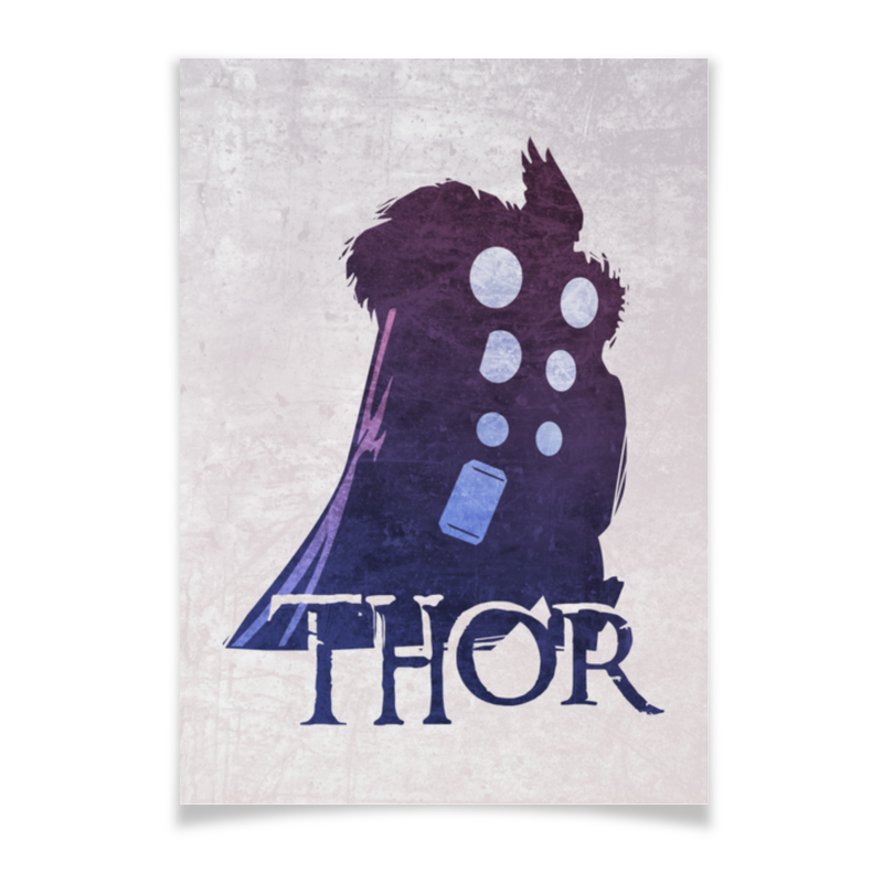 Плакат A3(29.7x42) Printio Marvel: thor плакат a3 29 7x42 printio marvel thor