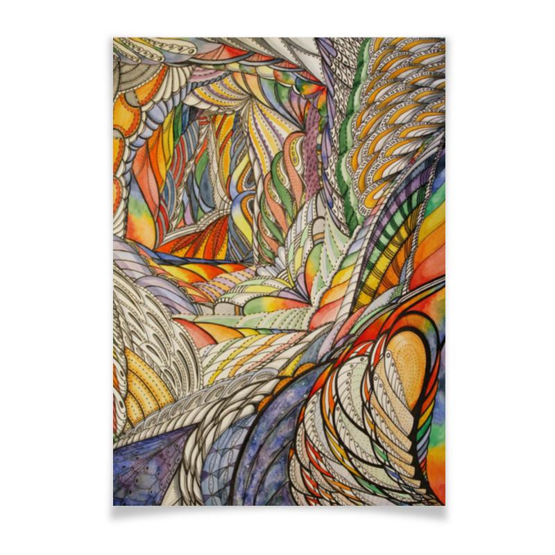 Плакат A3(29.7x42) Printio Тропик плакат a3 29 7x42 printio рисунок дедпула