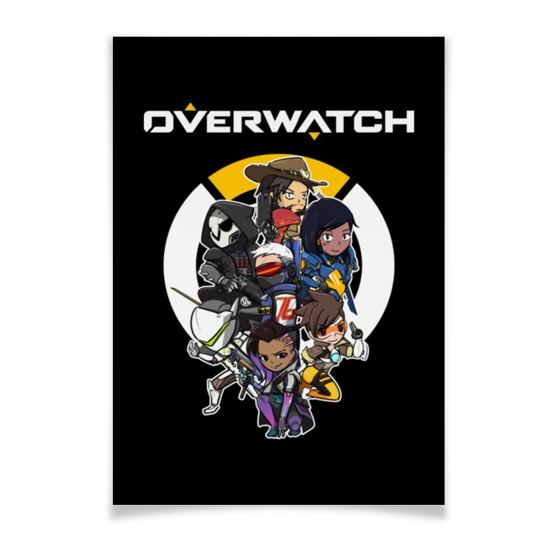 Плакат A3(29.7x42) Printio Overwatch плакат a3 29 7x42 printio darksidemro