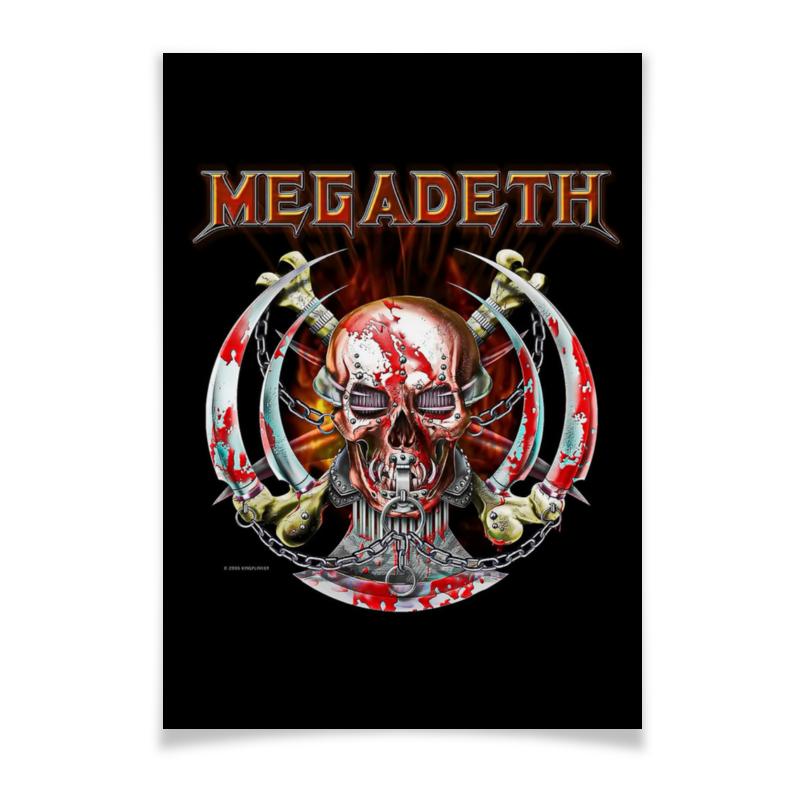 Плакат A3(29.7x42) Printio Megadeth плакат a2 42x59 printio противостояние