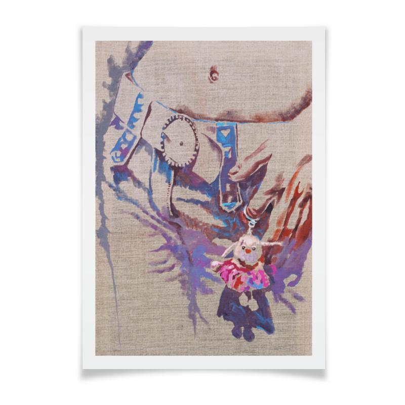 Плакат A3(29.7x42) Printio Маленький помощник брелок 500 dhl ups