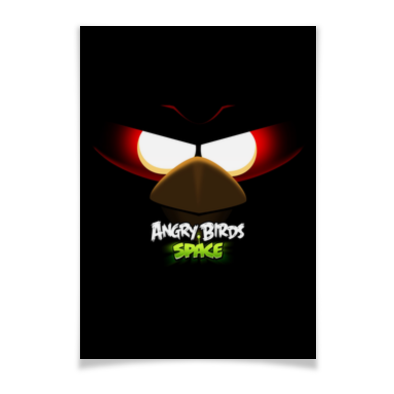 Плакат A3(29.7x42) Printio Space (angry birds) domestic birds домашние птицы плакат isbn 978 5 4315 0955 1