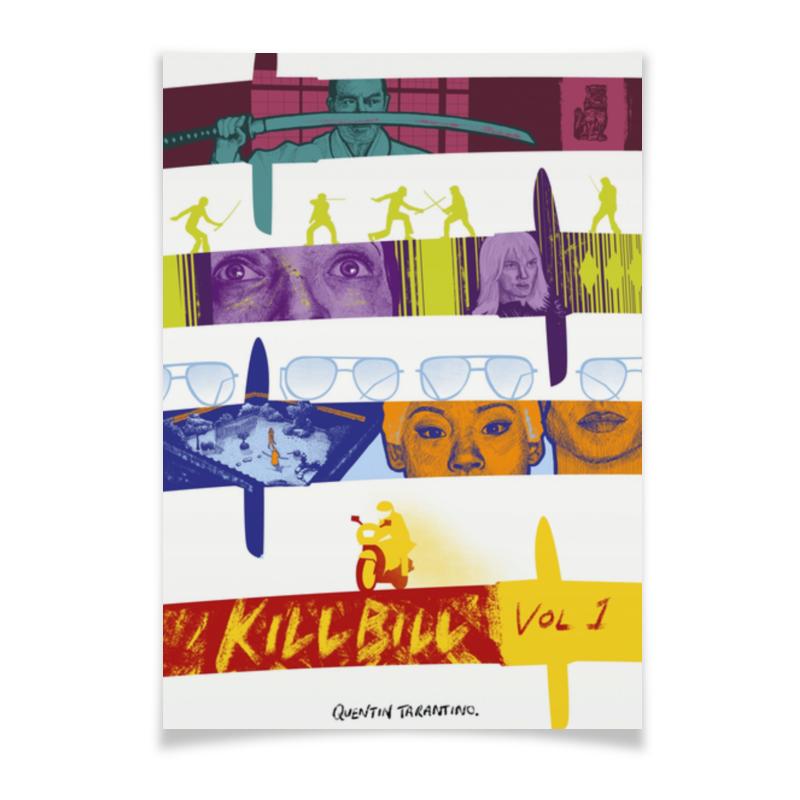 Плакат A3(29.7x42) Printio Убить билла / kill bill футболка для беременных printio убить билла
