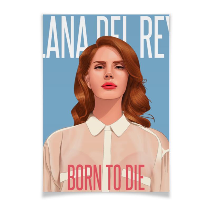 Плакат A3(29.7x42) Printio Lana del rey