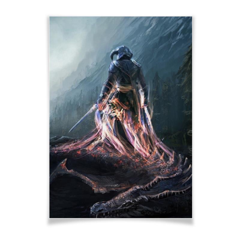 Плакат A3(29.7x42) Printio Elder scrolls the elder scrolls online morrowind игра для ps4