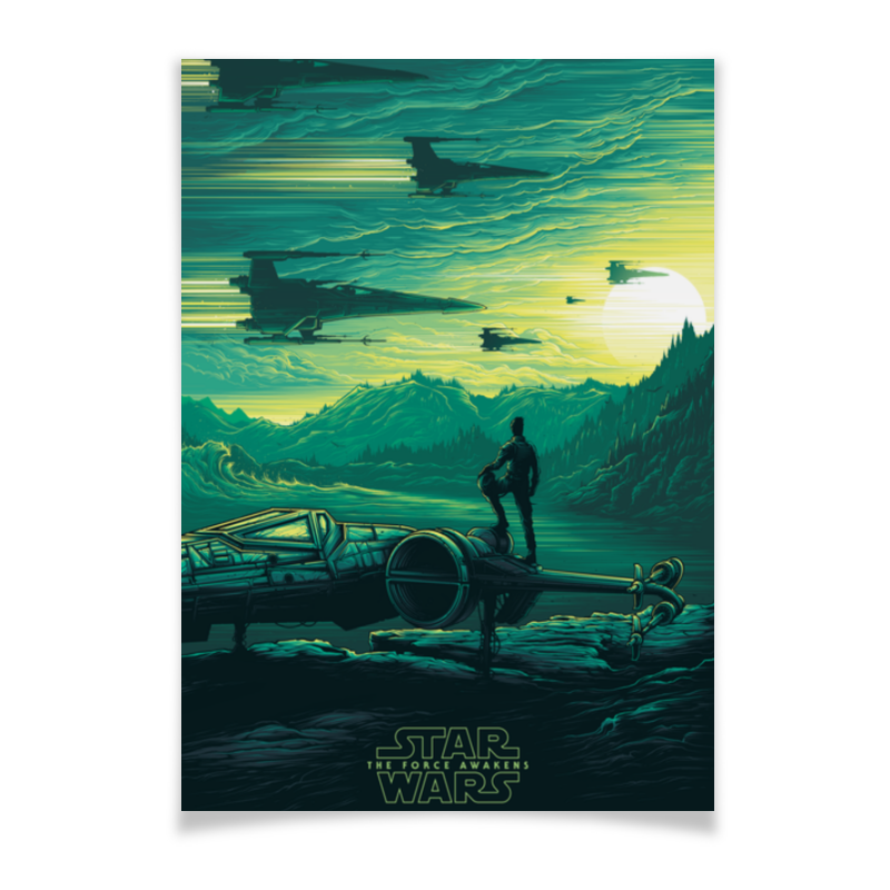 Плакат A3(29.7x42) Printio Star wars плакат a3 29 7x42 printio star lord