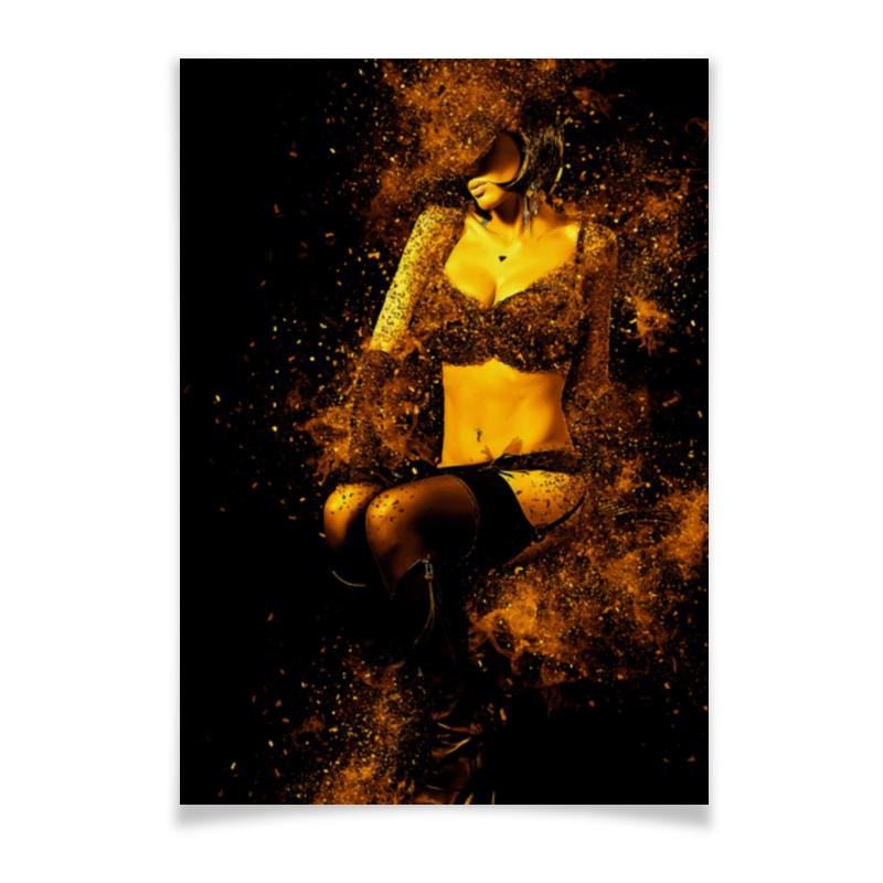 Плакат A3(29.7x42) Printio Девушка