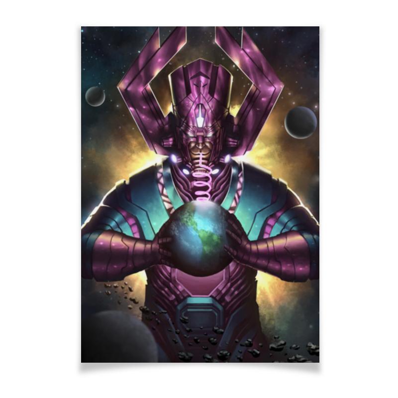 Плакат A3(29.7x42) Printio Галактус плакат a3 29 7x42 printio bloodborne