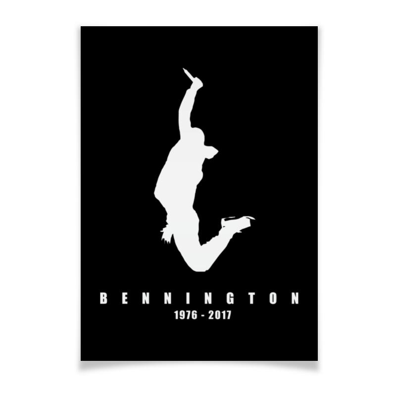 Плакат A3(29.7x42) Printio Chester bennington сумка с полной запечаткой printio chester bennington
