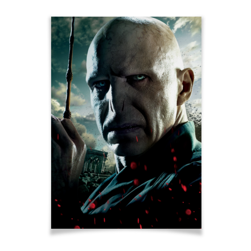 Плакат A3(29.7x42) Printio Волан-де-морт толстовка wearcraft premium унисекс printio волан де морт