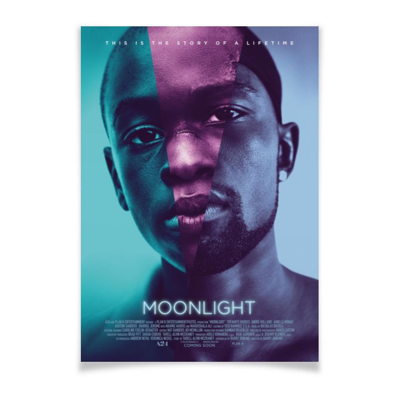 Плакат A3(29.7x42) Printio Лунный свет / moonlight ночник bradex лунный свет