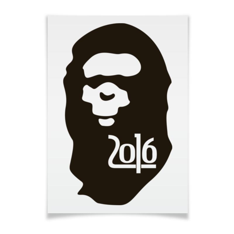 Плакат A3(29.7x42) Printio Год обезьяны сумка printio год обезьяны